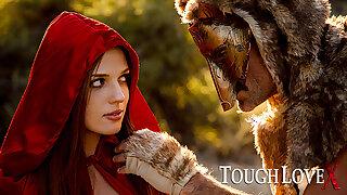 TOUGHLOVEX In flames Riding Thug Scarlett meets Werestud