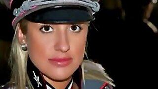 Hot navy girls in uniforms HD video NEW !!!