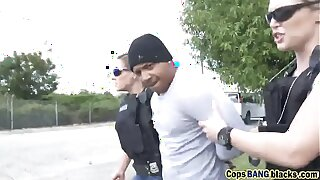 One hot sissified cop uses black felon's large penis toearns-a-lesson-hd-72p-porn-2