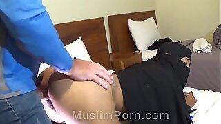 Muslim Niqab Anal Sex Crack-up