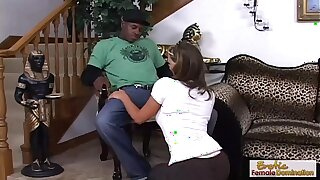 Phoenix Marie fucks a black guy while hubby is away