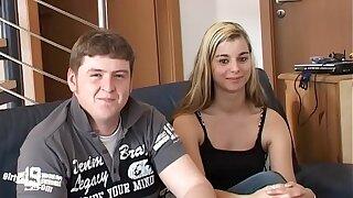 Sweet Teen Melanie - Home Casting