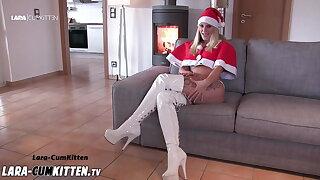 Lara CumKitten - Weihnachts Wichsanleitung